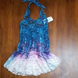Girl's lace dance/lyrical dress
